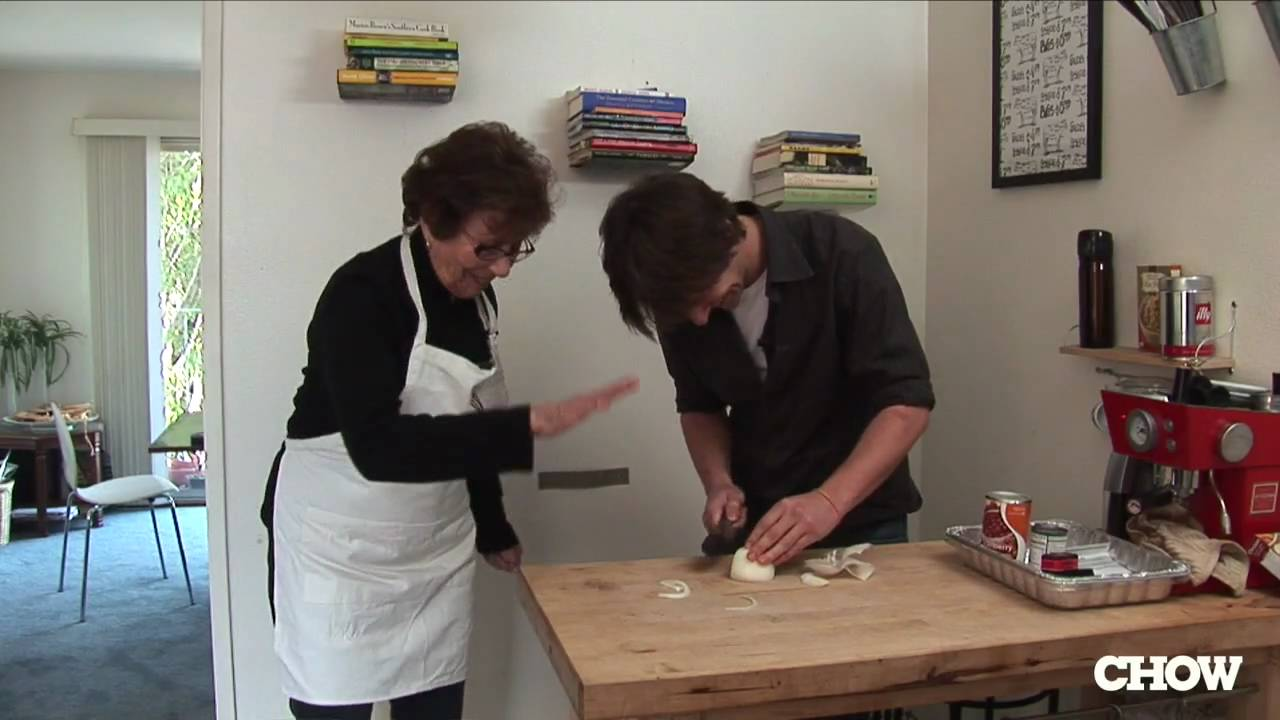 Cooking With Grandma - Passover Cooking with Grandma Irma - YouTube