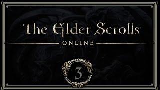 #3 Elder scrolls online прохождение [Выбрались] русский язык