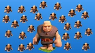 The Lonely troop series, who said giants can't jump in Clash of Clans