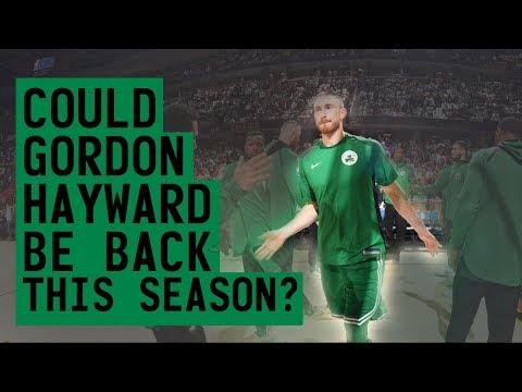 Download Youtube: COULD GORDON HAYWARD BE BACK THIS SEASON?