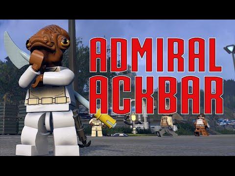 LEGO Star Wars The Force Awakens - Admiral Ackbar (Classic) Carbonite Unlock Location