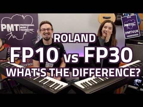 Roland FP10 Vs FP30 Digital Pianos...What's The Difference?