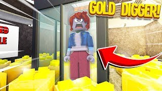 Trapping A GOLD DIGGER In My RICH ONLY Money Factory.. (Roblox) Video