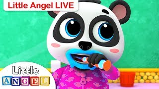 This is the Way, Finger Family Baby Shark  + More Live Nursery Rhymes and Kids Songs by Little Angel