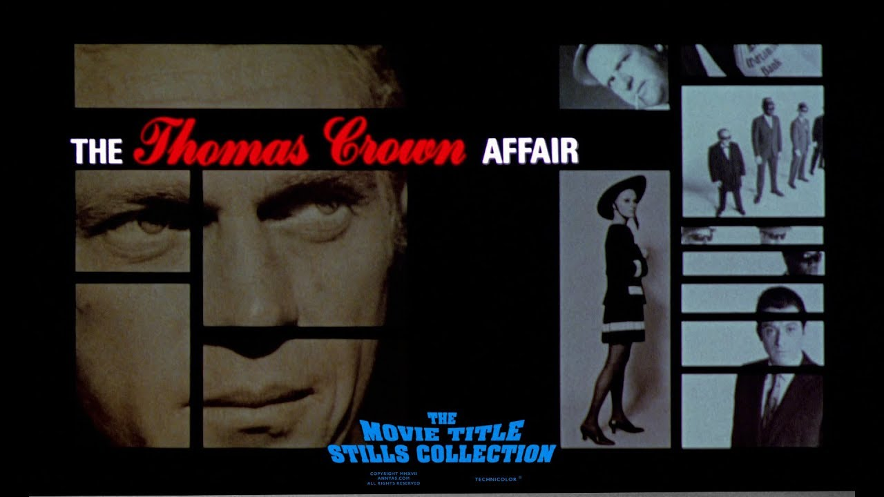 Image result for mcqueen thomas crown affair    title