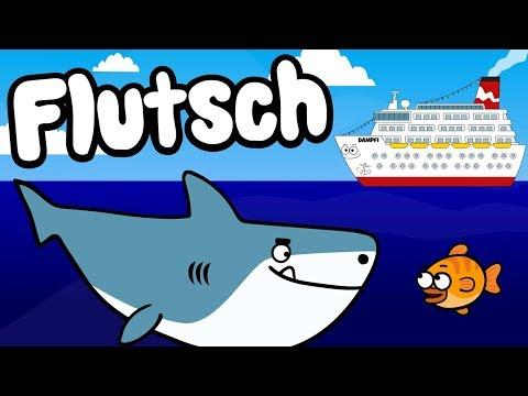 ♪ ♪ Kinderlied Kleiner Fisch - Flutsch Der Fisch - Hurra Kinderlieder