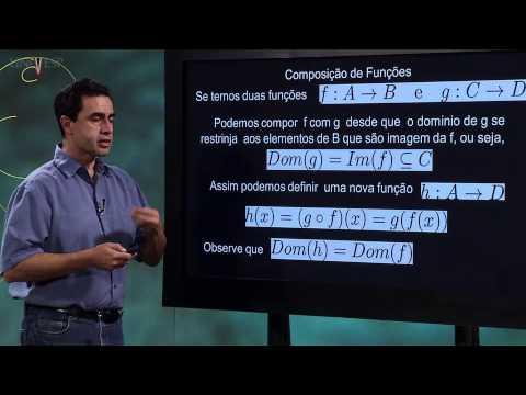 Cálculo I - Aula 3 - Funções 2: Operações com funções