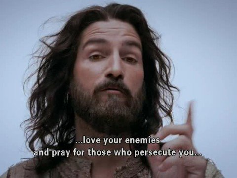 "Passion of Christ - Jesus ""love your enemy"""