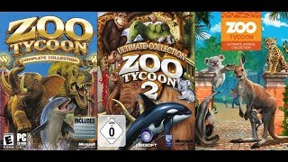 All Animals in Zoo Tycoon (2001-2017)