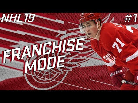 "NHL 19 FRANCHISE MODE | DETROIT RED WINGS #1 ""LOTS TO DO!"""
