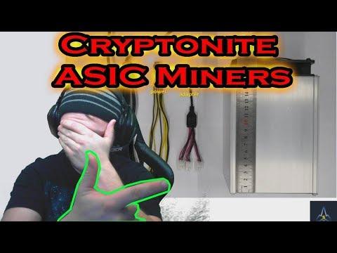 URGENT! - Cryptonite ASIC MINERS!?!