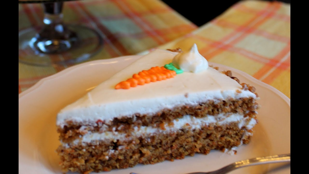 Tarta De Zanahorias Sin Lactosa 🍰 Carrot Cake Lactose