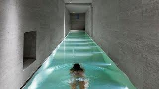 Grabe! Pang BILYONARYO lang ang swimming pool na to!