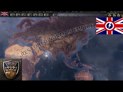 Hoi4 All Hail Britannia (One Empire + Franco-British union)