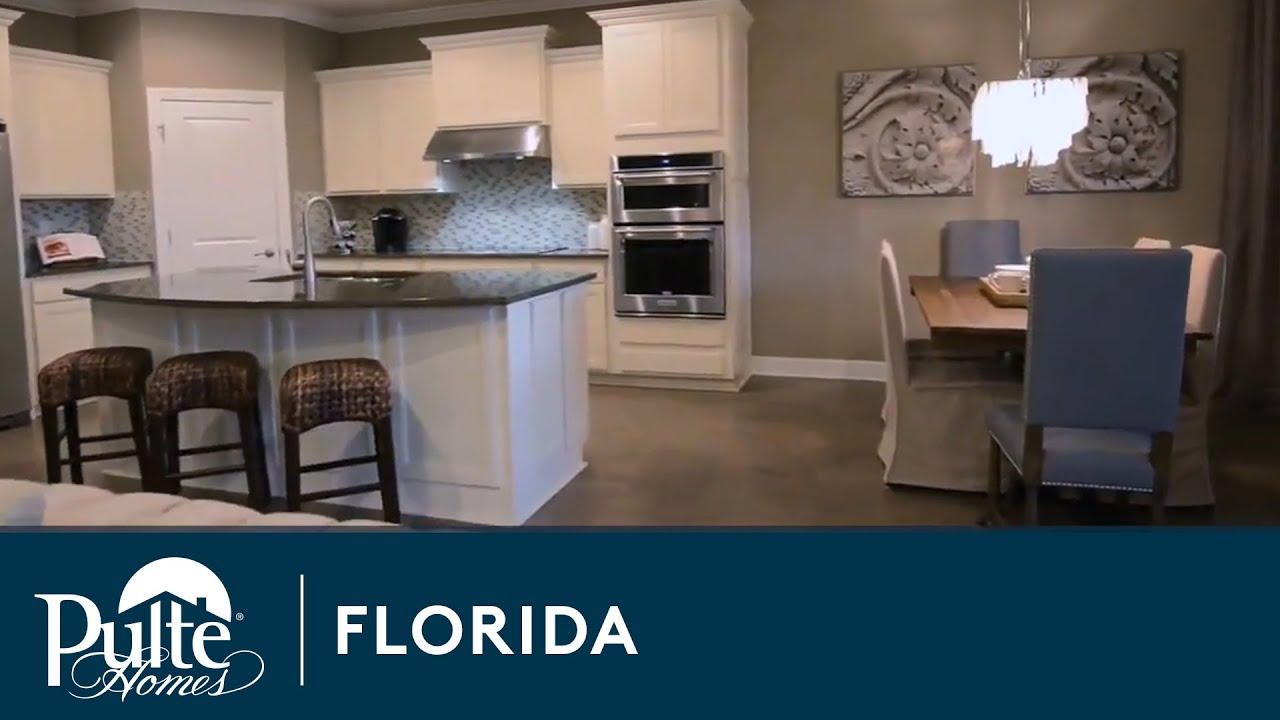 New Homes in Lutz, FL - Birchwood Preserve by Pulte Homes - YouTube