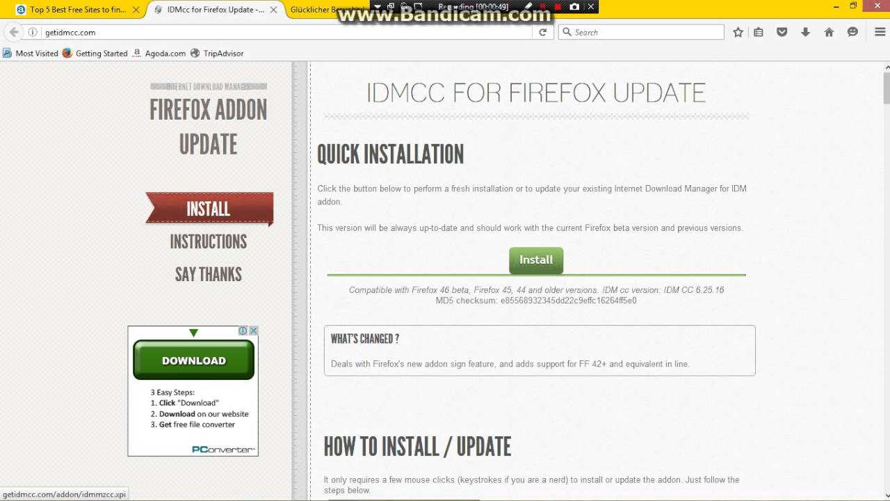 How To Make IDM Compatible For Browser