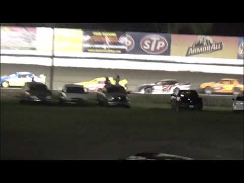 Tyler Sistrunk Motorsports - Volusia Speedway Park - Grandstands Feature Race - 7-3-2016