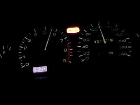 Nissan 100NX GTi SR20DE Acceleration 0-160