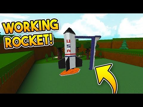 *WORKING* ROCKET SHIP! | Build A Boat For Treasure ROBLOX