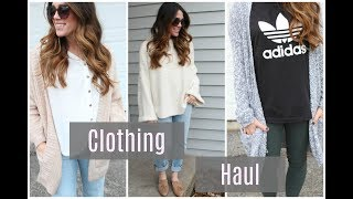 Clothing Haul + TRY ON: Free People, Nordstrom, Loft & MORE!