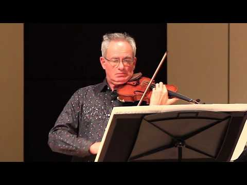 "Jacques Israelievitch, violin and Christina Petrowska Quilico, piano, perform James Rolfe's ""Drop"""