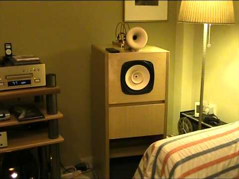 fostex-horn-speakers - YouTube