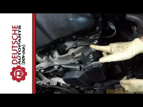 How to Install a VW 5 Cyl 2.5 Engine Crank Position Sensor (G28)