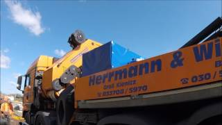Video Herrmann & Wittrock / #006 / Schienen-Transport von unserem Palfinger Spezial-Ladekran download MP3, 3GP, MP4, WEBM, AVI, FLV Agustus 2018