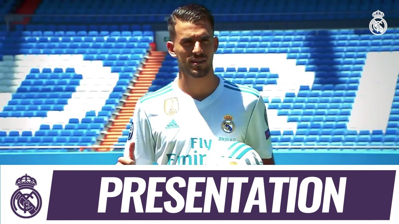 brand new 21109 d6dc9 Dani CEBALLOS' first day in a REAL MADRID shirt!