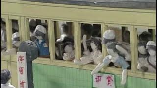 このジオラマは、横浜市の疎開問題研究会の方々が学童疎開で経験したこ...