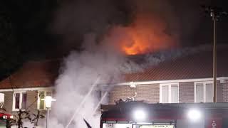 Grote uitslaande woningbrand in Deventer