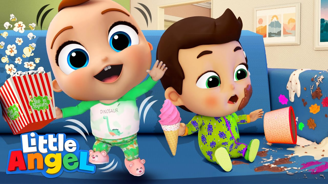 Download Pyjama Party With Baby John  | Good Manner Songs & Nursery Rhymes By Little Angel
