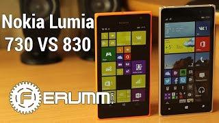Nokia Lumia 830 VS Lumia 730 большое сравнение. Что лучше купить Nokia 830 или 730 от FERUMM.COM