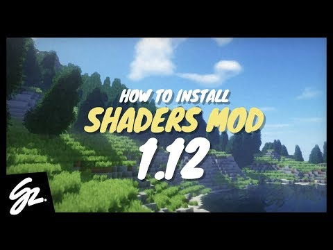 How To Install Shaders Mod for Minecraft 1.12 (Minecraft Shaders Mod 1.12) - Tutorial