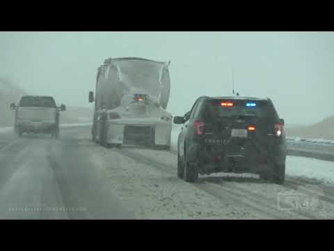 10-09-2019 I90 East Billings, MT To Hardin, MT Road Conditions.mp4