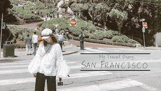 Travel Vlog#1 | 3 Days in San Francisco | 和我一起坐火车吧