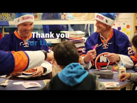 New York Islanders Visit Maimonides Children's Hospital