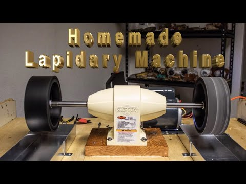 Homemade Lapidary Machine DIY