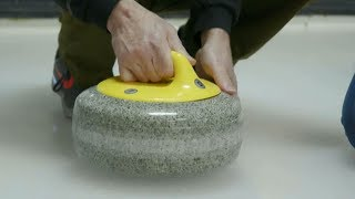 Olympic sport of curling combines fitness and finesse