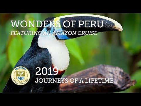 Wonders of Peru, featuring an Amazon Cruise