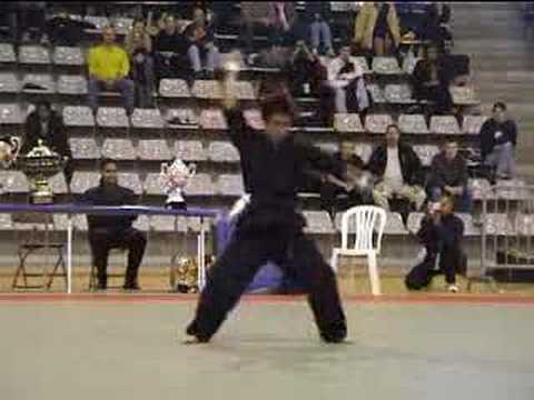 kung fu guy goes crazy