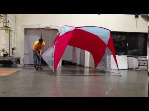 Caravan Canopy - How To Assemble The Sport Shelter & Caravan Canopy - How To Assemble The Sport Shelter - YouTube