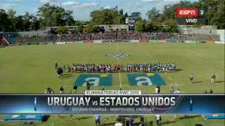 Play-Off First Leg for the Rugby World Cup 2015 : Uruguay - USA Part1