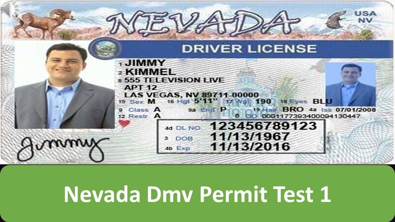 - 1 Dmv Youtube Test Permit Nevada