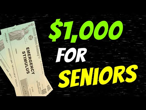 Extra $1,000 Stimulus Check For Seniors: Stimulus Update & EIDL Grant