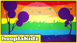 Rainbow Colors Song | Learn Colors For Children with Hooplakidz