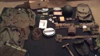 Basic WWII US Army Uniform and Equipment