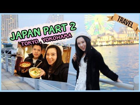 [Vlog] พาเที่ยวญี่ปุ่น Part 2 Tokyo,Yokohama ║Evefeemakeup