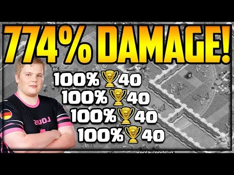 8 Legend League Attacks 774% DAMAGE! Clash Of Clans Strategy