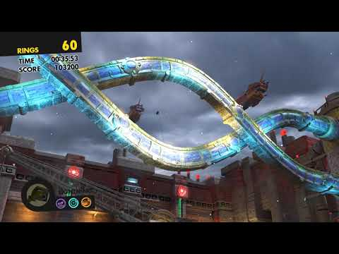 Sonic Forces (PC) All Number Rings and Silver Moon Rings
